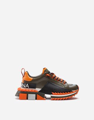 Dolce & Gabbana Super Queen Multicolor Sneakers