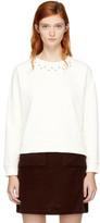 Carven Off-white Studs Sweatshirt