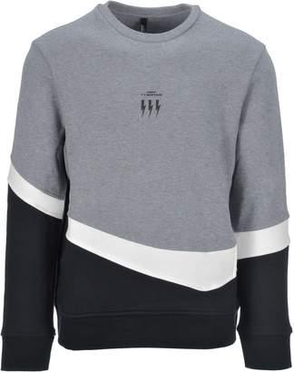 Neil Barrett Triptych Thunder Lightweight Sweatshirt
