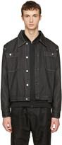 Telfar Black Convertible Denim Jacket