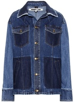 McQ Patched Oversized denim jacket
