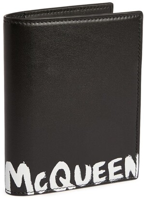 Alexander McQueen Leather Logo Document Holder