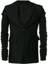 Rick Owens elongated sleeve blazer