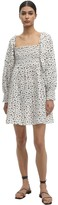 Thumbnail for your product : Rixo Bethany Printed Eyelet Lace Dress