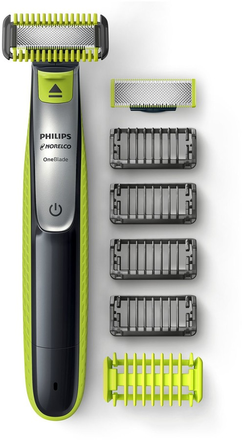 b33748804ca7 OneBlade Face + Body Hybrid Electric Trimmer & Shaver