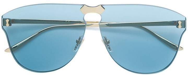 Gucci oversize frameless sunglasses