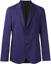 Paul Smith notched lapel blazer - men - Cotton/Cupro/Modal/Cashmere - 50