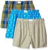 Tommy Hilfiger Men's Underwear 3 Pack Cotton Classics Woven