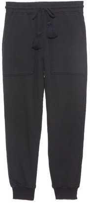 Ulla Johnson Charley Pant in Onyx