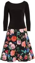 Eliza J Women's Knit V-Back Top