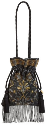 Etro Chatelaine Embroidered Pouchette Bag