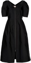Marni balloon sleeve zipped dress