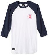 Lrg Men's Raglan-Style Baseballe T-Shirt