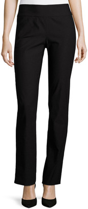 Nic+Zoe Plus Size Wonderstretch Straight-Leg Pants