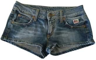 Roy Rogers Roy Roger's Blue Denim - Jeans Shorts for Women