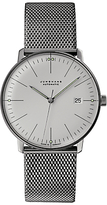 Junghans 027/4002.44 Max Bill Self-winding Stainless Steel Bracelet Strap Watch, Silver