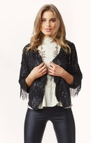 Blu Moon exclusive sparkle and fringe jacket
