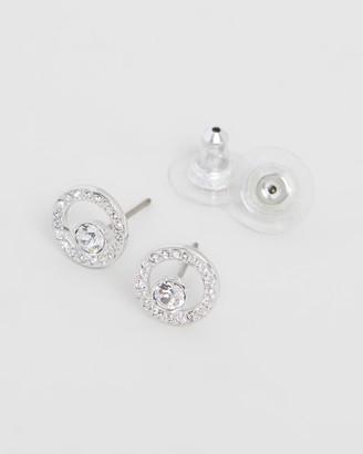 Swarovski Creativity Circle Pierced Small Earrings