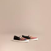 Burberry Sneakers sans lacets en