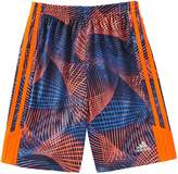 adidas Boys 4-7x Amplified Abstract Shorts