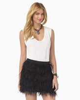 Juicy Couture Feather Skirt