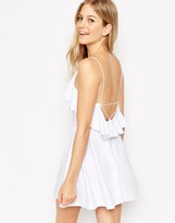Asos Ruffle Mini Skater Dress