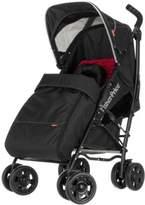 Fisher-Price Safe Voyage Deluxe Stroller (Black/ Red)