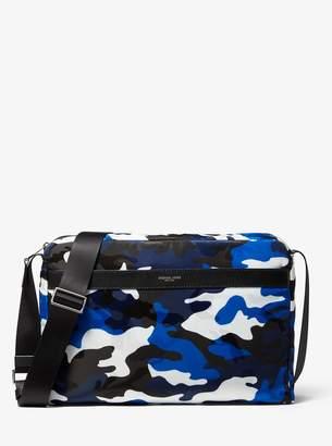 Kent Large Camo Jacquard Messenger Bag