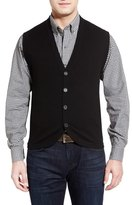 Cutter & Buck Bosque Wool & Cashmere Sweater Vest (Big & Tall)