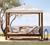 Pottery Barn Chatham Ultimate Lounge Cabana - Dark Honey