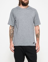 Nike NSW Bonded Top in Carbon Heather