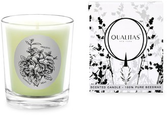 Qualitas Candles Garden Mint Scented Beeswax Candle