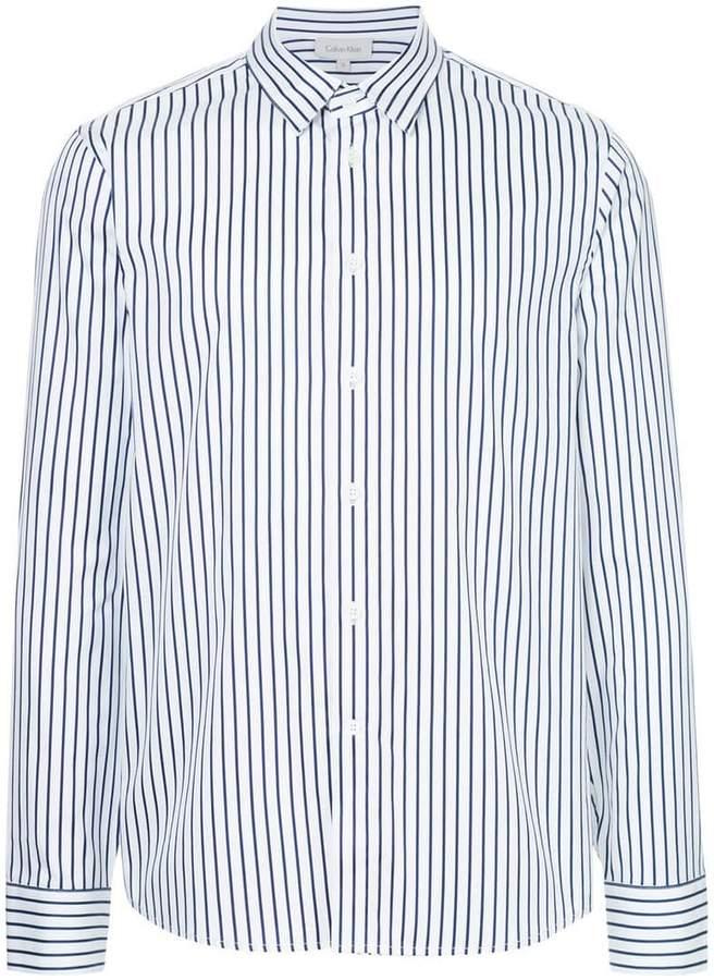 CK Calvin Klein striped shirt