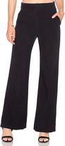 Enza Costa Silk Noil Wide Leg Trouser