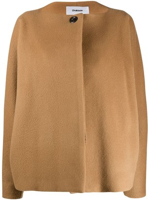 Chalayan Batwing Sleeve Single-Breasted Jacket