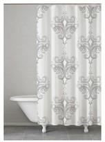 kassatex rifiki shower curtain gray