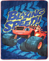 Nickelodeon NickelodeonTM Blaze Fast Track Fleece Blanket