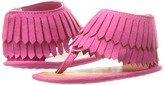 Baby Deer Fringe Thong Girls Shoes