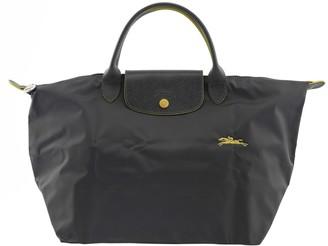Longchamp Top Handle Bag M Le Pliage Gun Metal