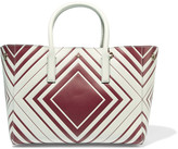 Anya Hindmarch Ebury small printed textured-leather tote