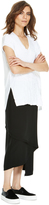 DKNY DKNYpure Pull On Wrap Skirt
