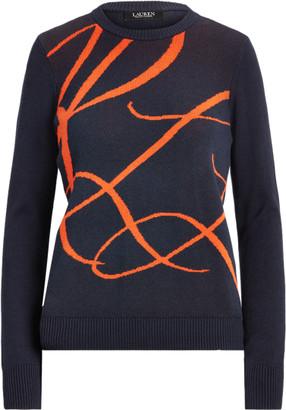 Ralph Lauren Logo Cotton-Modal Jumper
