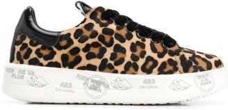 Premiata Animal-Print Sneakers
