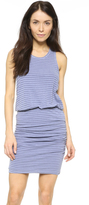 Sundry Striped Sleeveless Dress