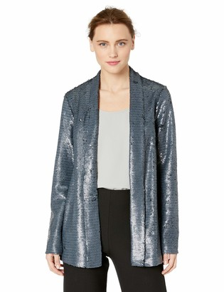 Cupcakes And Cashmere Women's Anastasia Shawl Collar Sequin Jacket