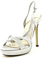 Menbur 005875 Women Open Toe Synthetic Platform Sandal.