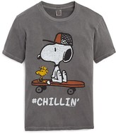 Junk Food Clothing Boys' #Chillin' Snoopy Tee - Sizes XXS-S