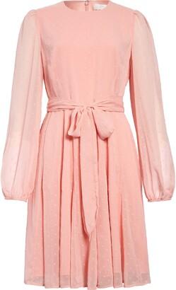 Rachel Parcell Twirl Long Sleeve Dress