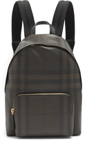 Burberry Abbeydale leather-trimmed backpack