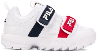 Fila Double Strap Low-Top Sneakers